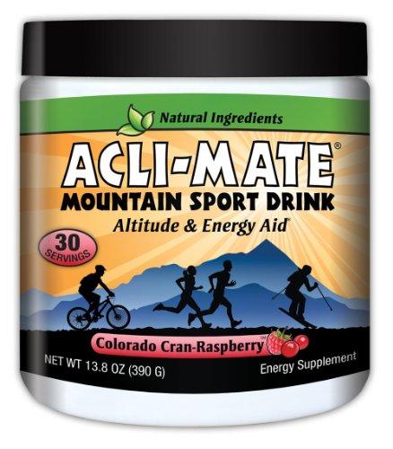 Acli-Mate Mountain Sport Drink, Cran-Raspberry, 13.8-Ounce