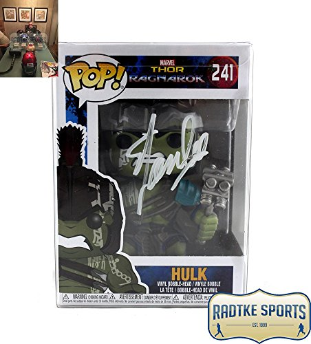 Stan Lee Autographed/Signed Funko Pop! Thor Ragnarok Hulk #241 Action Figure
