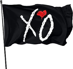 NOT BRAND Cool The Weeknd XO Home Garden Flag Farmhouse Summer Yard Outdoor Flags 3x5 Ft