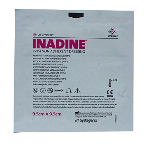 Inadine 9.5cm x 9.5cm (x10)