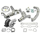 94 chevy intake manifold - High Performance Upgrade GT45 T4 5pc Turbo Kit - Chevy Small Block SBC Engine
