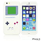 OBiDi - Gameboy Style Silicone Case for Apple iPhone 6 / 6S (4.7 inch)Smartphone - White