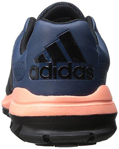 Scarpa Da Running Adidas Performance Da Donna Con Fionda Da Trail Minerali Blu / Nero / Giallo Sole Splendente