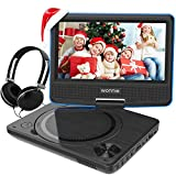 7.5 Inch Portable DVD Player, Perfect Gift for kids with Swivel Screen, USB