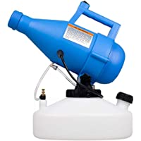 LONYEON 4.5L Electric Ulv Fogger Sprayer Machine,8-10 Meters Disinfection Sprayer Area Ultra-Low Capacity Disinfection Machine Atomizer Suitable for Indoor Outdoor Garden Hotel Station School