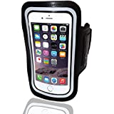 Iphone 6 Armband for Running- The Best Fitting Adjustable Arm Band And Holder of the Apple Iphone 6 & Samsung Galaxy S5. With Our 30 Day Money Back Guarantee