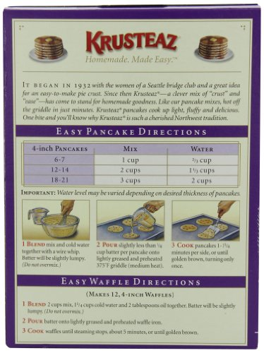 Aunt Jemima Complete Pancake Mix Instructions