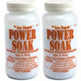 2-Pack Power Soak Spa & Pool Filter Cartridge Cleaner - 2 x 1 lb. bottles offers