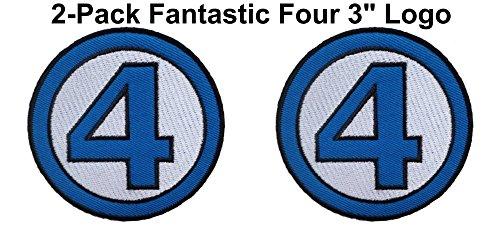Athena Marvel Comics Fantastic 4 Logo 3