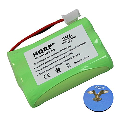 (HQRP Battery for Tri-tronics Multi-Sport 2S, Multi-Sport 3S, Sport 50S, Sport 60S, Sport Series- 50, 60, 65BPR, Pro 500XL, Pro 500XLS Remote Controlled Dog Training Collar Receiver plus Coaster)