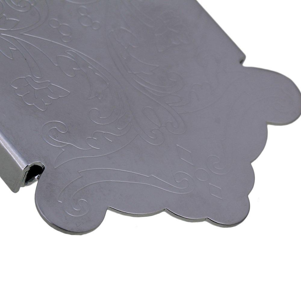 de plata Cordal para mandolina Yibuy de 62 x 41/mm decorativa