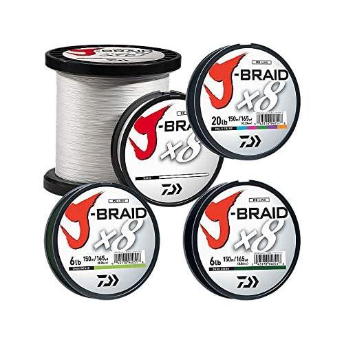 Image of Braided Line Daiwa J-Braidx8 JB8U40-3000MU 10 lbs Test, Multi-Color Bulk, Multicolor