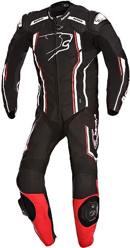 BERING-Traje para moto SUPRA-R COMBI-4XL, color negro, color negro ...