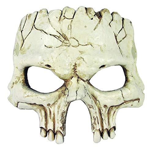 Forum Novelties Unisex-Adult's Half Mask-Foam Skull, Multi, Standard]()