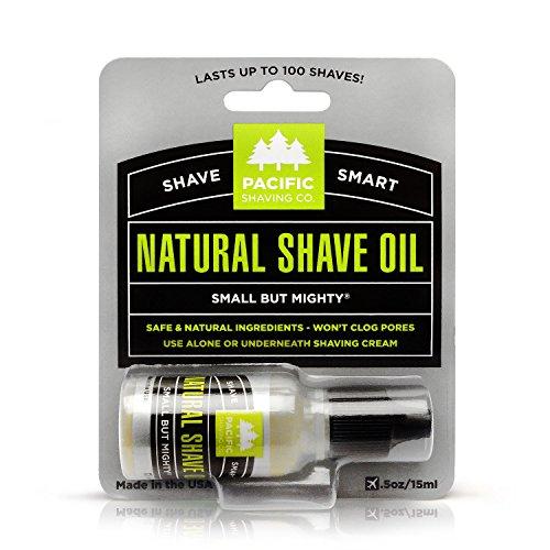 Pacific Shaving Company Natural Oil