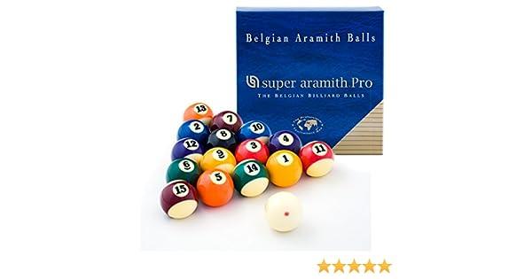 Aramith Super Pro - Juego de bolas de billar (2 1/4): Amazon.es ...