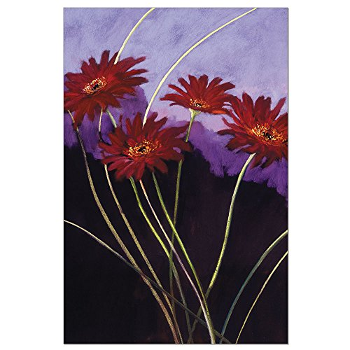 (Tree-Free Greetings EcoNotes 12-Count Daises on Lavender Blank Notecard Set With Envelopes, All Occasion, Floral Card for Flower Lovers (FS56669))