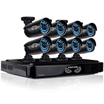 Night Owl Security AHD7-882 8 Channel Smart Video System with 2 TB HDD and 8x720p HD Cameras (Black)
