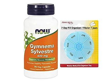 AHORA Gymnema silvestre 400 mg, 90 vegetales cápsulas