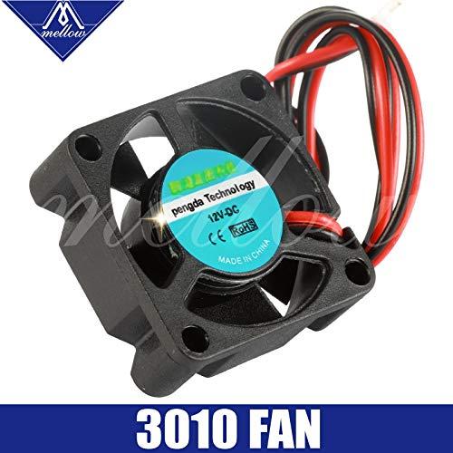 12V//24V V6//V5 Radiator 3010 Fan 303010mm 3010s DC Small Fan Cooling extruder 2-Wire 3D Printer Accessories Part 12v