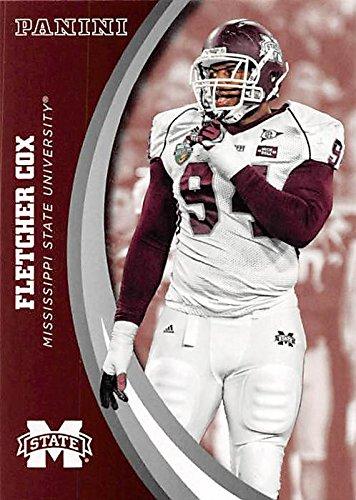 half off 58a6b 5cc50 Fletcher Cox football card (Mississippi State Bulldogs) 2016 ...