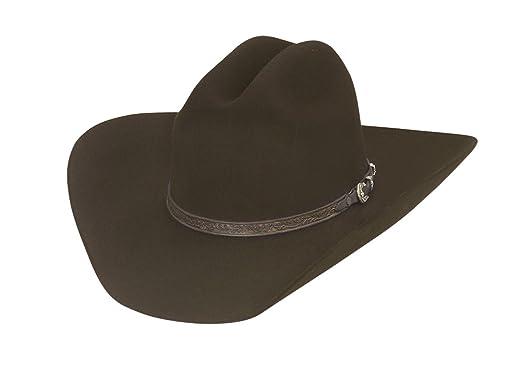 6632f2bebec Larry Mahan Retro Fur Felt Cowboy Hat at Amazon Men s Clothing store
