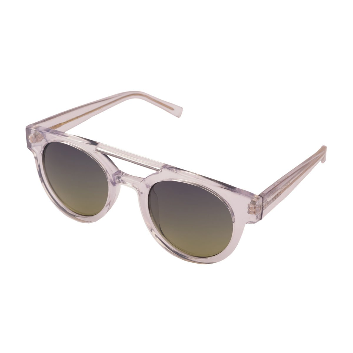 Amazon.com: Komono KOM-S1902 Round Sunglasses, Clear Frames ...