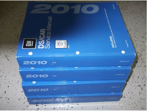 2010 Cadillac STS S T S Service Repair Shop Manual Set FACTORY BOOKS OEM 10 (4 volume set.)