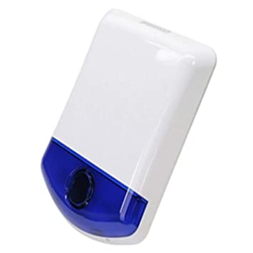 DIGITAL SECURITY CONTROLS DSC WT4911B 2 WAY WIRELESS OUTDOOR SIREN WITH BLUE STROBE