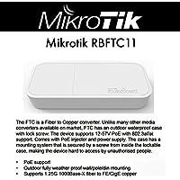 Mikrotik Fiber-to-Copper Converter