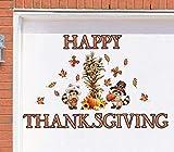 new years garage magnets - Tuweep Happy Thanksgiving Decoration Harvest Pilgrim Garage Door Magnets Autumn Fall Yard Decor Accent
