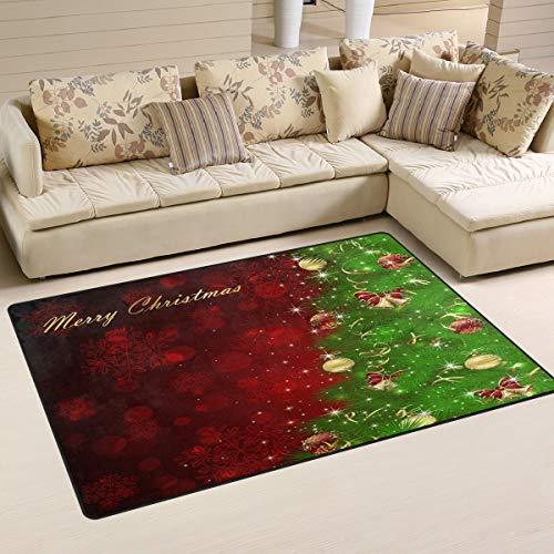 - Wamika Christmas Tree Bells Snowflakes Front Door Mat Outdoor Indoor Entrance Doormat, Door mats Stylish Welcome Mats Garage Patio Snow Scraper Front Doormats 60x 39 inch