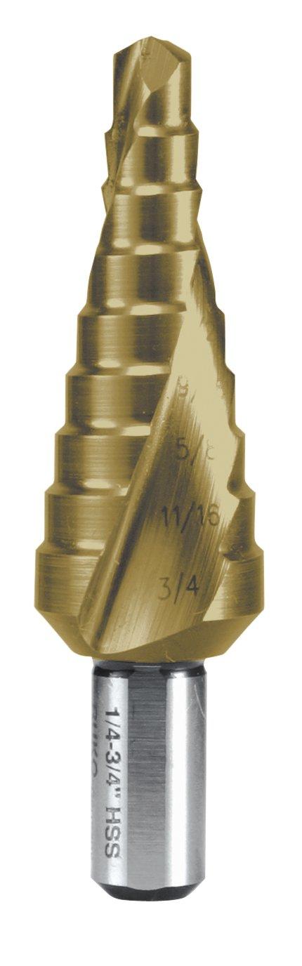 RUKO 101026USTRO Step Drill Kit HSS-TiN Size 1//Size 2//Size 3