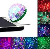Clothful  for iPhone Phone Mini Disco Light Portable Home Party Light DC 5V Disco Ball