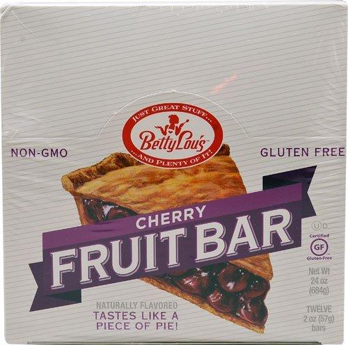 BETTY LOU'S FRUIT BAR,CHERRY,WF, 2 OZ CASE_12