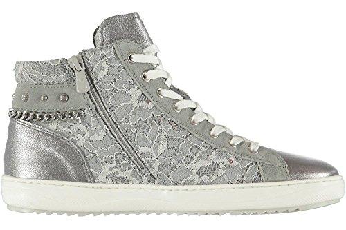 Nero Giardini Damen Sneaker Grau Grau Grau