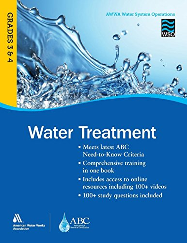 Pdf Transportation Water Treatment Grades 3 and 4 WSO: AWWA Water System Operations WSO