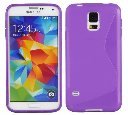 Amazon.com: Cadorabo Case Works with Samsung Galaxy S5 / S5 ...