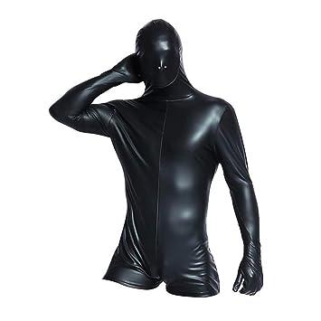 Latex anzug schwarz