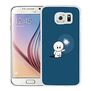 Cute Cartoon Robot Toy Sparkle (2) Durable High Quality Samsung Galaxy S6 Edge Case