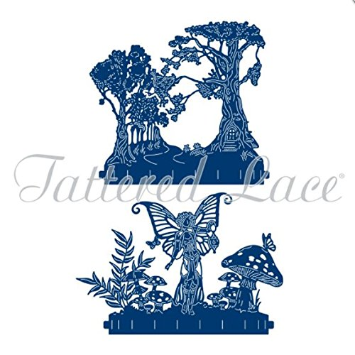 - Tattered Lace Flectere Faerydae Story Cutting Die Set TLD0063