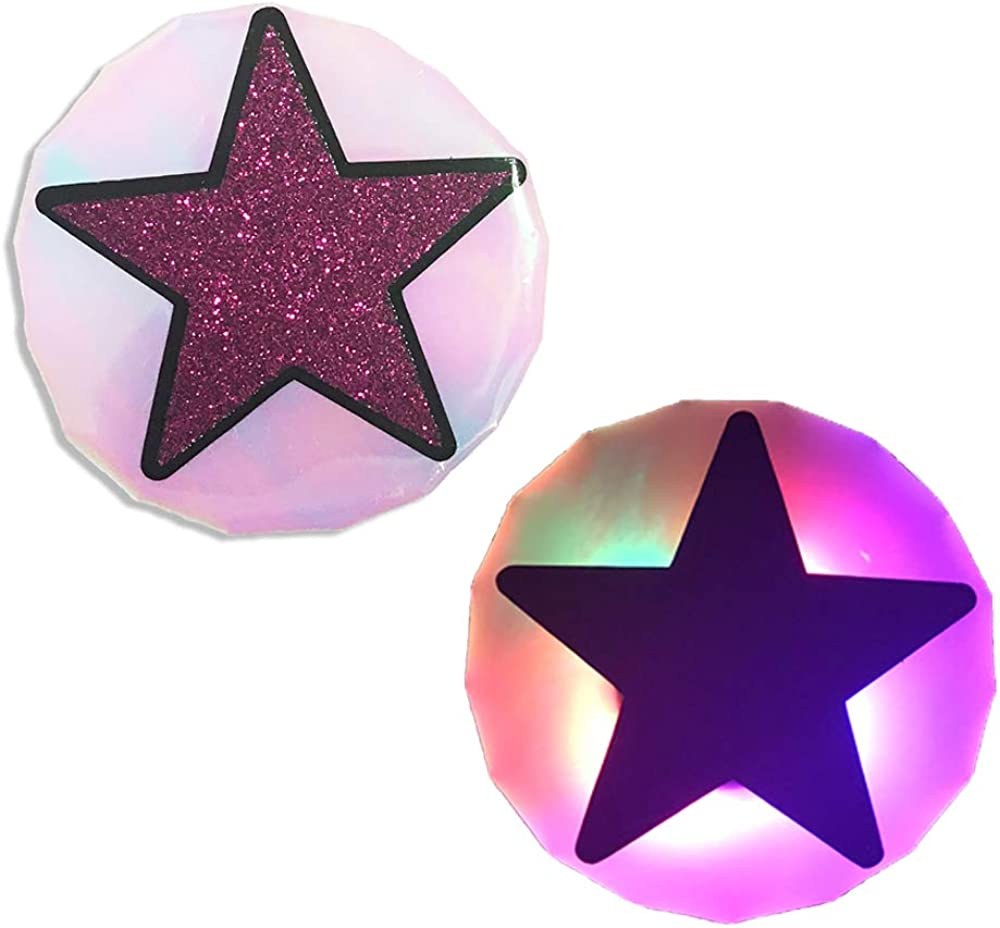 Sasswear LED Pasties Click Your Nips Light-Up Nipple Covers