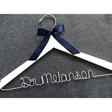 Personalized Lab Coat Hanger