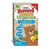 yummi bears organics - Yummi Bears Organics Multi-Vitamin Gummy Vitamin for kids, 90 Gummy Bears