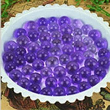 5dc5a80b6 1200 pcs perlas de agua perlas Jelly Gel barro cristal suelo jarrón  decoración LianLe: Amazon.es: Hogar