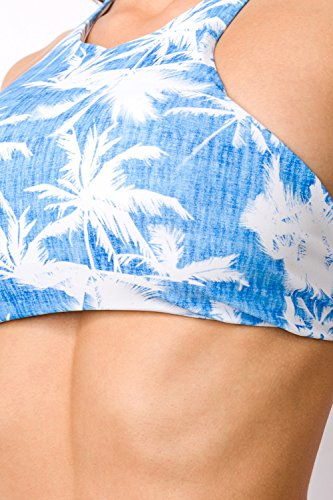 luxury & good Dessous - Conjunto - para mujer azul/blanco
