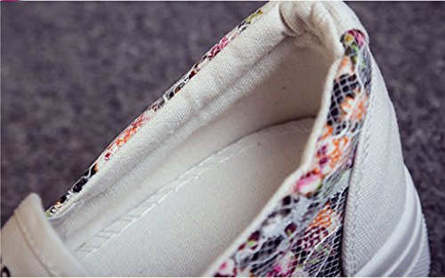 GFONE - zapatilla baja mujer blanco