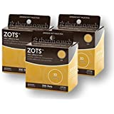 Thermoweb Zots Clear Memory Adhesive Dots, 3-D, 200 per Pack (Pack of 3)