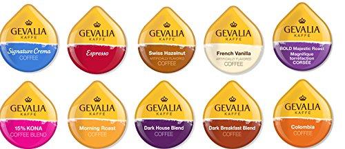 TASSIMO GEVALIA Sampler varieties Espresso