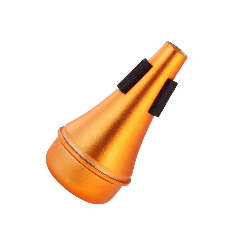 de oro PIXNOR Silencio de trompeta para la pr/áctica